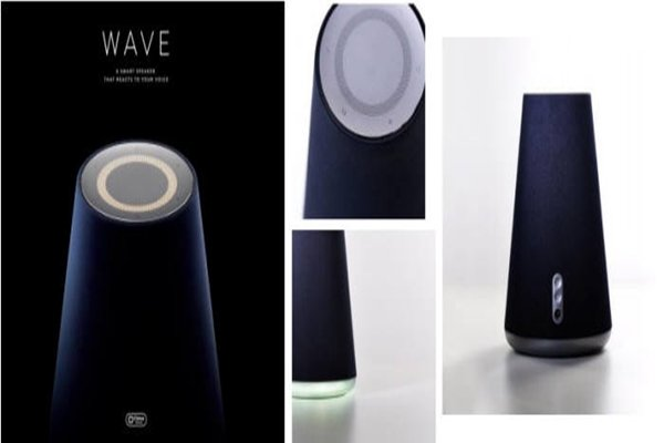 Naver's AI speaker 'WAVE' (Database from The Electronic Times)
