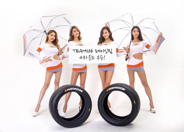 한국타이어 후원 팀106 레이싱팀, CJ슈퍼레이스 4라운드 우승