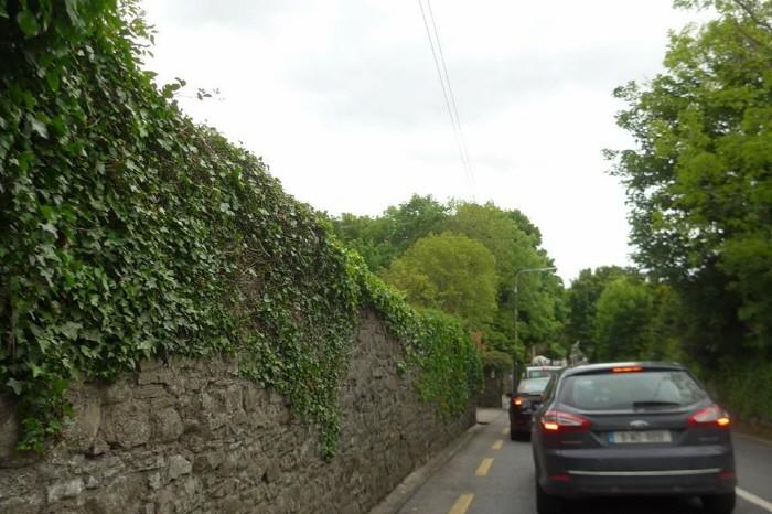 도로폭이 좁은 아일랜드