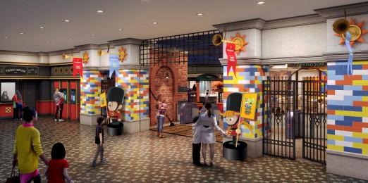 신세계 프라퍼티는 스타필드 3호점인 이 곳의 오픈을 8월 24일로 확정하고, 8월 17일부터 1주일간 프리오픈 행사를 갖기로 했다고 밝혔다. 토이킹덤 메인게이트. 사진=신세계 프라퍼티 제공