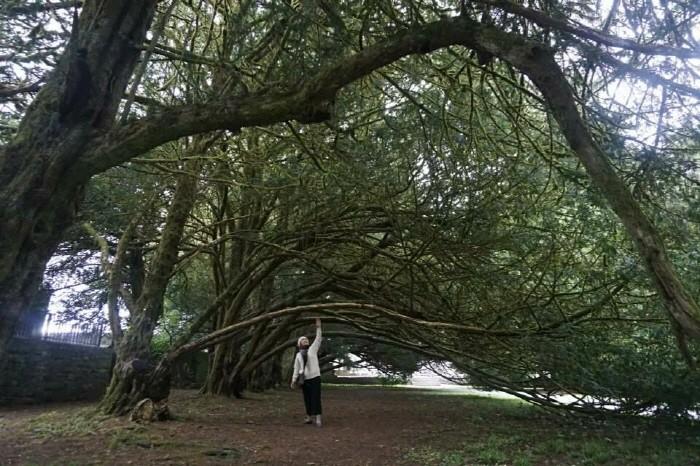 수도원 정원 산책