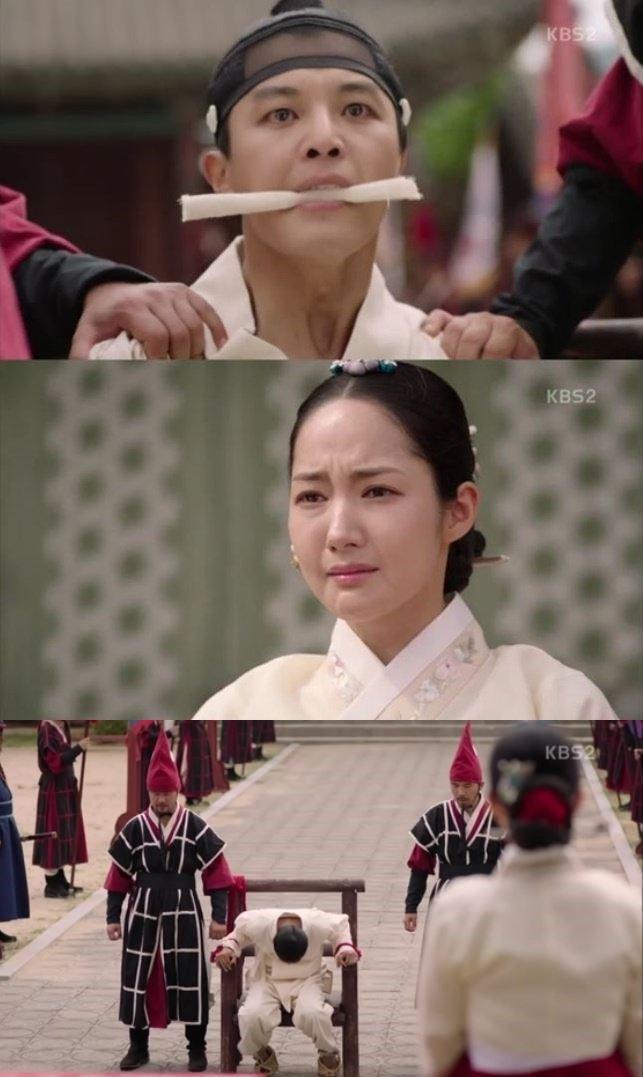 '7일의 왕비' 연우진, 박민영 앞에서 단근형…이동건을 향한 복수 시작됐다