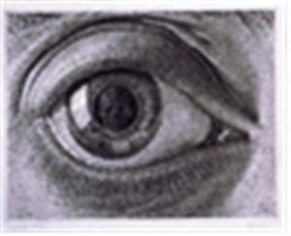 눈(Eye), 메조틴트, 53x43cm, 1946. 사진=와이제이커뮤니케이션 제공