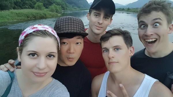 영국남자 조쉬, 올리, 조엘과 한국 중급자 시골 체험 컬래버레이션 영상. 사진=마이 코리안 허즈번드 제공