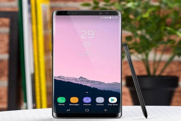 Expected image of Galaxy Note 8 leaked by foreign press