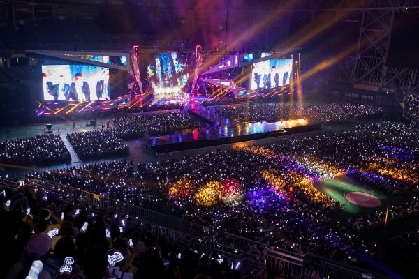 '워너원 쇼콘' 공연사진. 사진=HNS HQ 제공