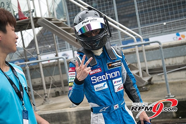 [RPM포토스토리] 서한-블루 김종겸 선수의 네번째 레이스 스토리