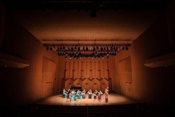 '제7회 니즈앙상블 정기연주회' 리허설사진. 사진=더케이스튜디오 제공