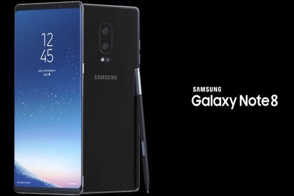 Estimated image of Galaxy Note 8