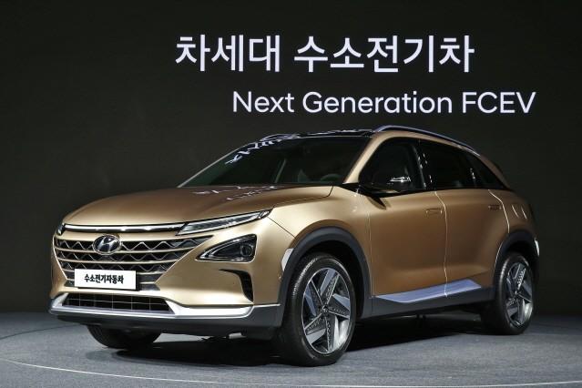 현대차, '차세대 수소전기차' 공개…2020년까지 친환경차 31종 개발