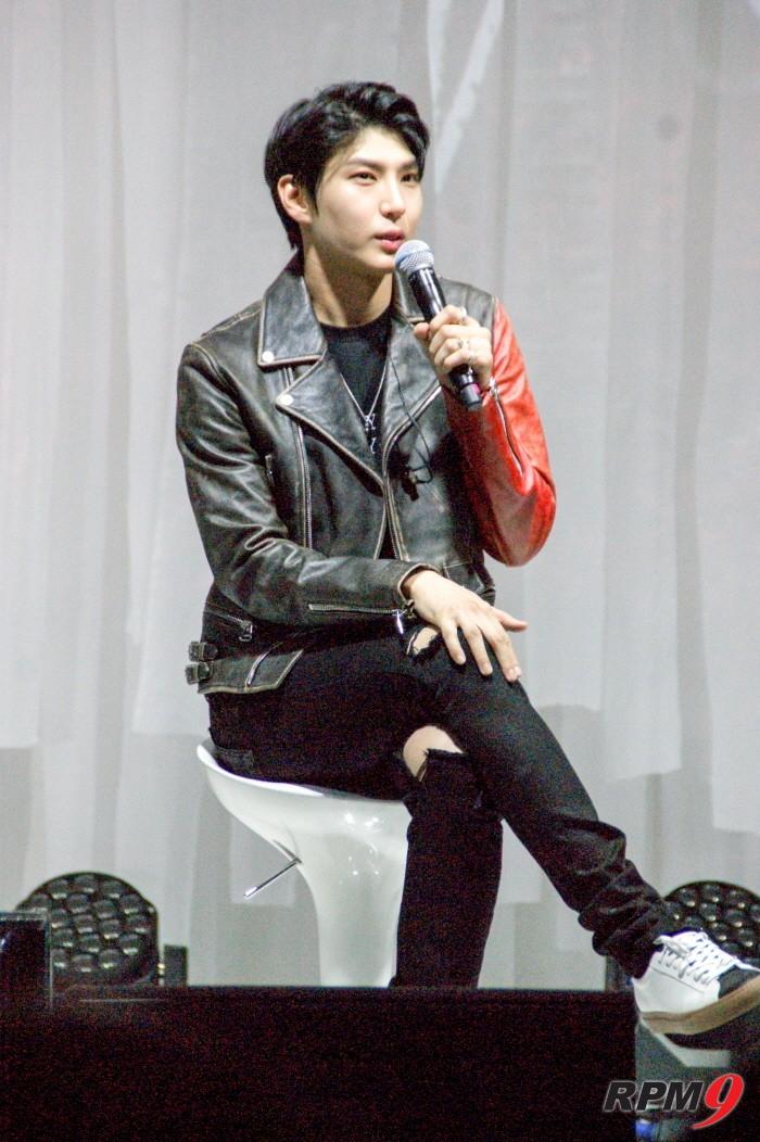 유닛그룹 빅스LR로 컴백한 레오가 자신의 음악적인 생각과 두 번째 미니앨범 '위스퍼(Whisper)'에 대한 생각들을 밝혔다.(사진=박동선 기자)