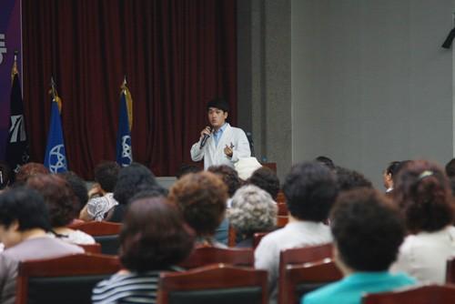 자윤한의원 부산센텀점, '부산여성건강세미나'에서 강의