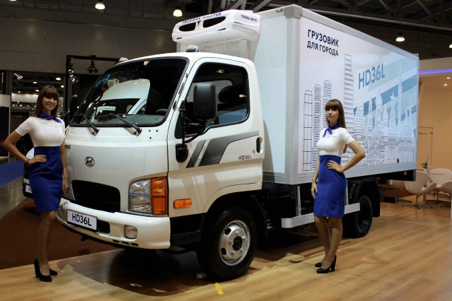 현대차, 모스크바 국제 상용차 전시회에 중소형 트럭 첫 공개