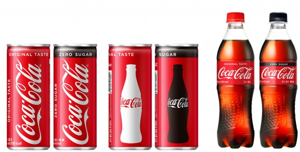 130여년의 역사를 자랑하는 코카콜라가 9월부터 전 제품을 레드 컬러로 통일하는 전면적인 패키지 리뉴얼을 단행했다. 사진=코카콜라 제공