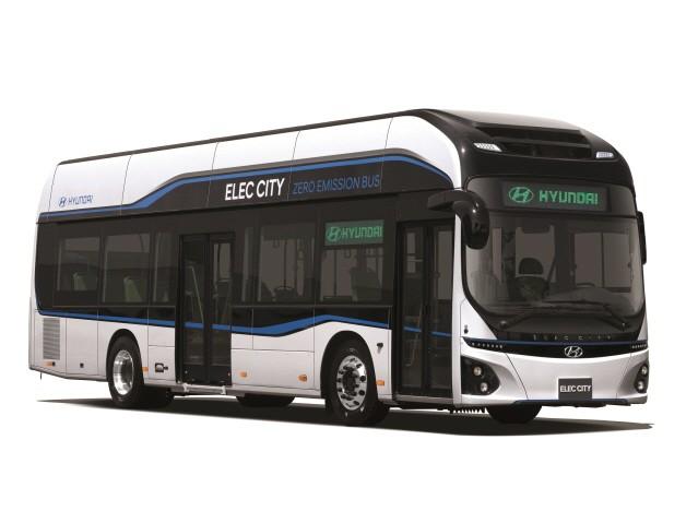 현대차, 부산 시내버스회사와 전기버스 '일렉시티' 첫 계약