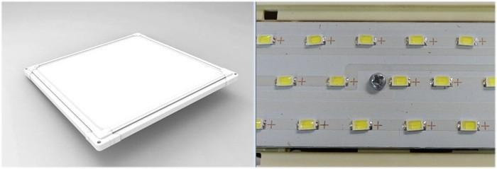 요즘 전등은 전구가 아닌 LED 소자로 제작 되어서 벽에 거는 액자처럼 두께가 얇다. - 전자신문 제공