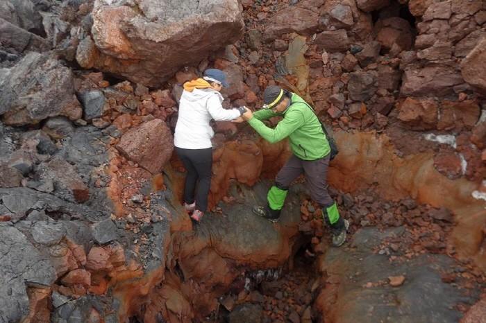 라바리어아래 동굴 탐사