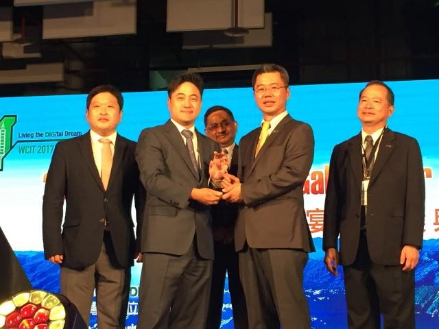 시스원, 2017 ASOCIO IT 기업부문 최우수상 수상