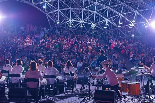 공연중인 내부 모습 (사진:세종시 블로그기자단 권용극님)