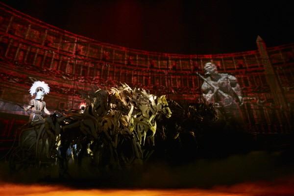 '벤허' 공연사진. 사진=뉴컨텐츠컴퍼니 제공
