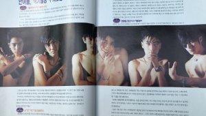 """젝스키스, 상반신 노출한 과거 잡지 사진...양현석 """"근데 왜 벗었니?"""""""