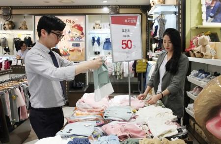 서울 가산동에 위치한 마리오아울렛은 오는 9월 27일까지 '추석맞이 유아동 브랜드 대전'을 벌인다. 사진=마리오아울렛 제공