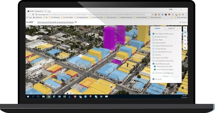 ArcGIS 앱을 활용한 3D 도시 계획