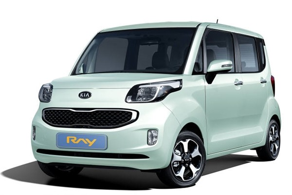 South Korea's only box-type compact car called 'RAY'