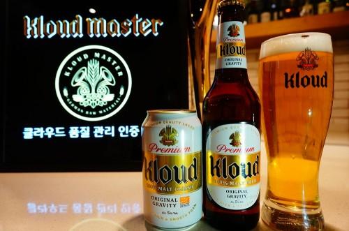롯데주류는 정통 독일식 맥주 '클라우드'를 더욱 풍부하고 맛있게 즐길 수 있는 매장을 눈으로 직접 확인할 수 있도록 '클라우드 마스터(Kloud Master)' 인증 마크를 부착하고 있다. 사진=롯데주류 제공