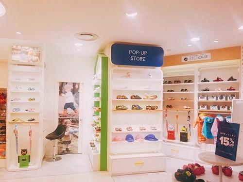 스텝케어, 현대백화점 아기 걸음마 신발·키즈 운동화 팝업매장 오픈