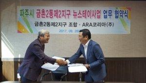파주시 금촌2동 제2지구 기업형 임대사업자 'ARA코리아' 선정