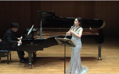 [ET-ENT 클래식] '김민아 클라리넷 독주회'(2) 클라리넷과 첼로의 이중주, 내면을 건드리는 소리