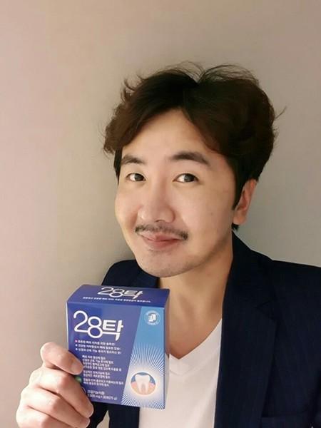 개그맨 이영식 '건강한 치아 관리' 스마일 캠페인에 참여