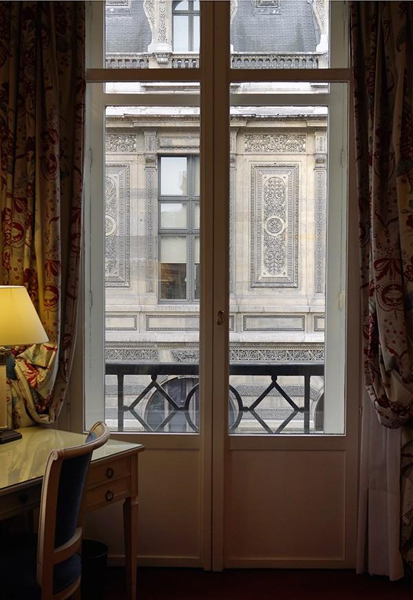 The Window, Hotel Louvre, Paris, November 2013