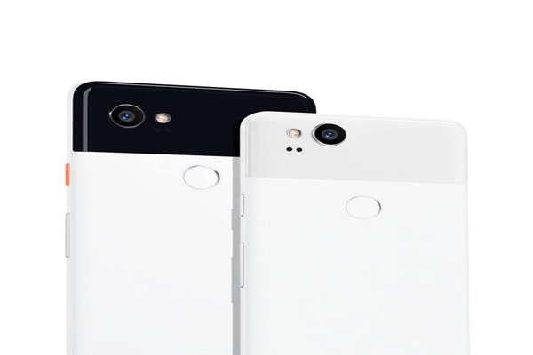 Picture of the back of Google's Smartphone 'Pixel 2' (Reference: Google)