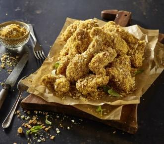 제너시스BBQ 그룹의 치킨 프랜차이즈 'BBQ'가 지난 9월 25일 출시한 '써프라이드 치킨'이 인기를 끌고 있다고 11일 전했다. 사진=BBQ 제공