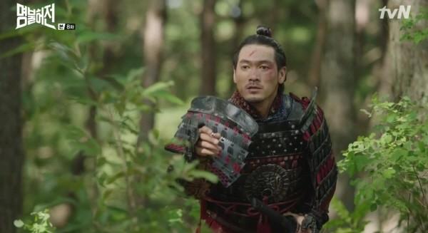 tvN '명불허전' 다케다 히로미츠(사야가(귀화명 김충선) 역). 사진=Yoshimoto Entertainment Seoul 제공