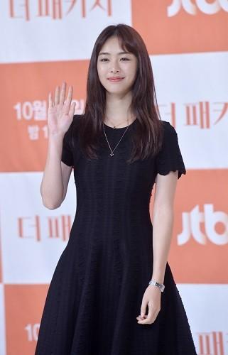 JTBC드라마 '더 패키지', 아이오페 모델 이연희 우아한 가을 메이크업 화제
