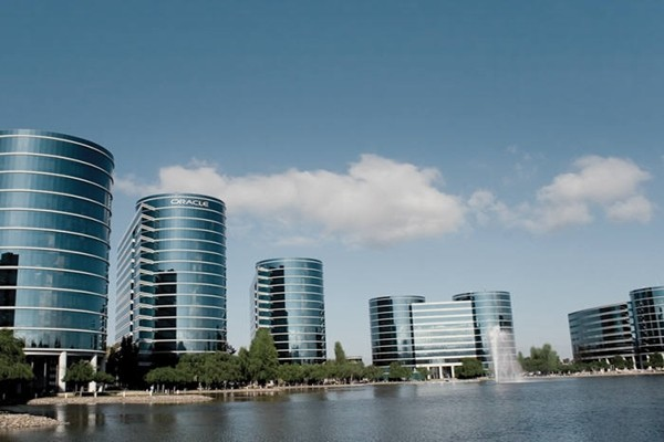 A picture of Oracle's headquarters
