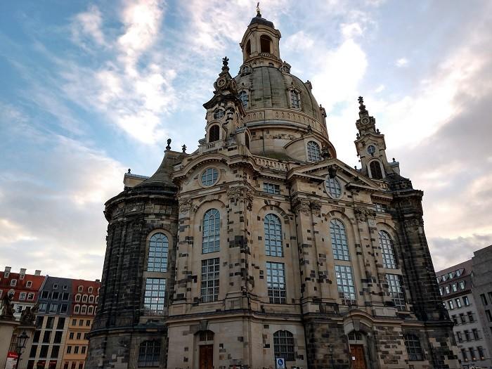 드레스덴에서 1994년부터 2005년까지 복원한 교회