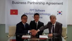 인터솔루션테크놀로지·투톤, FPT Sortware와 비즈니스 파트너쉽 협약 체결