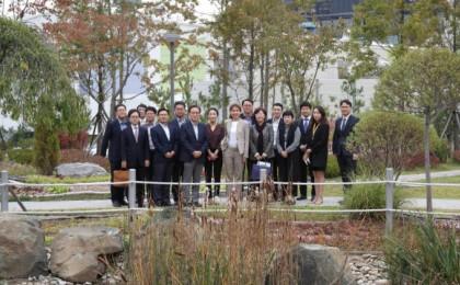 UN 생물다양성협약 사무총장, '생물 다양성 보존 활동 우수'기업 삼성 방문