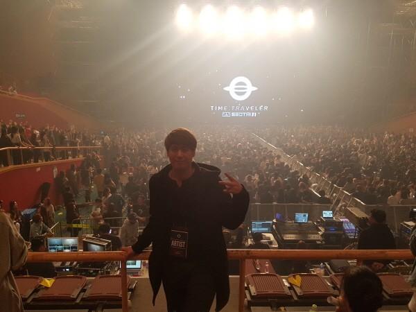'2017 서태지 25주년 콘서트(with 방탄소년단)' 안무 감독 박준희. 사진=박준희 페이스북 제공
