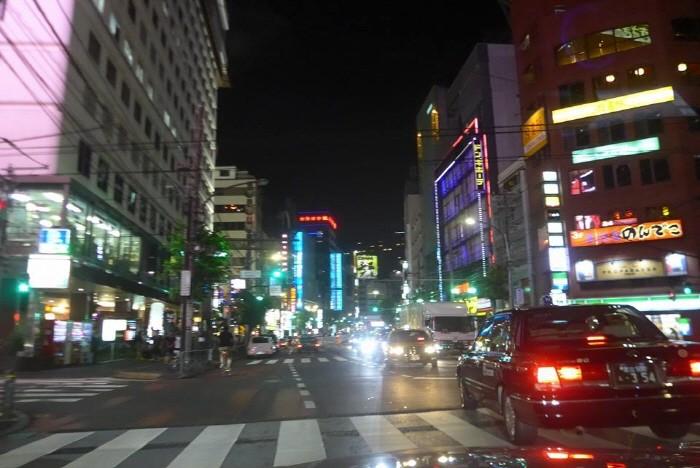 도쿄시내 야경