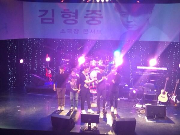 '김형중 콘서트' 공연사진. 사진=SH아트홀 제공