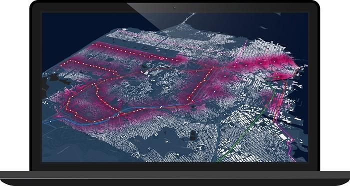 시각적으로 멋진 지도를 자동 시각화하는 스마트 맵핑(Smart Mapping) 기능