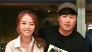 류현진 배지현, 달달한 LA데이트 포착...예비부부의 행복한 미소