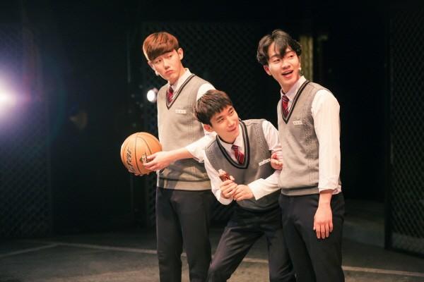 '전설의 리틀 농구단' 공연사진. 사진=안산문화재단 제공