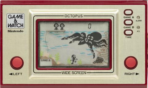 Game & Watch 오락기- Octopus