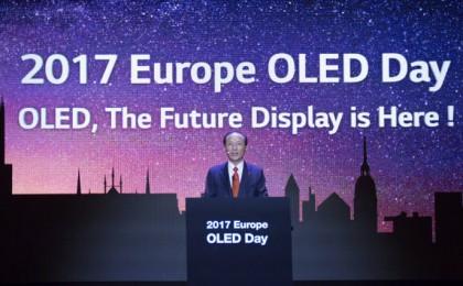 """LG디스플레이 """"OLED로 유럽 공략...세계 프리미엄 TV 판도 바꾸겠다"""""""
